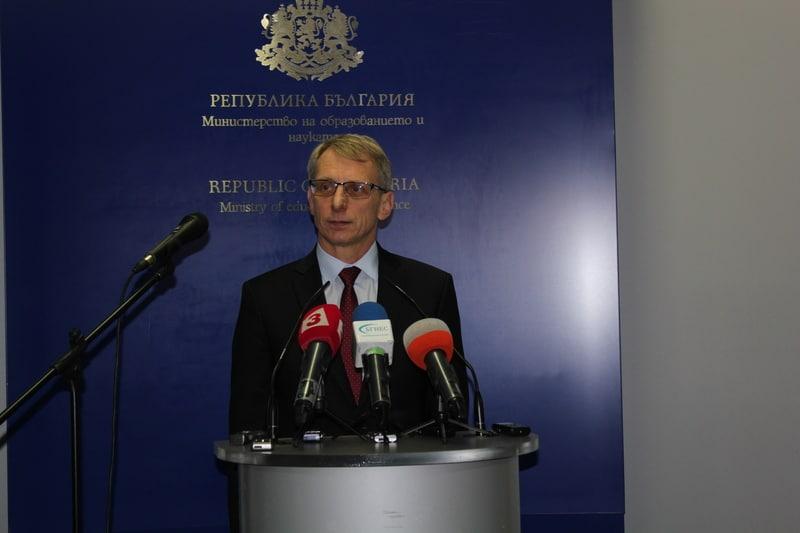 Николай Денков - служебен министър на образованието. Снимка: МОН