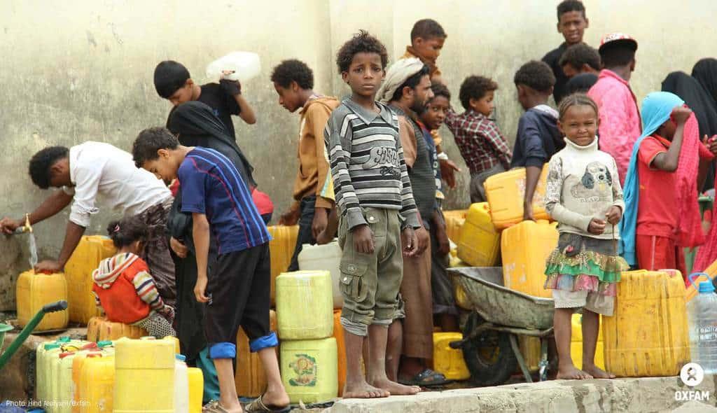 Хиляди деца гладуват в Йемен. Снимка: Oxfam