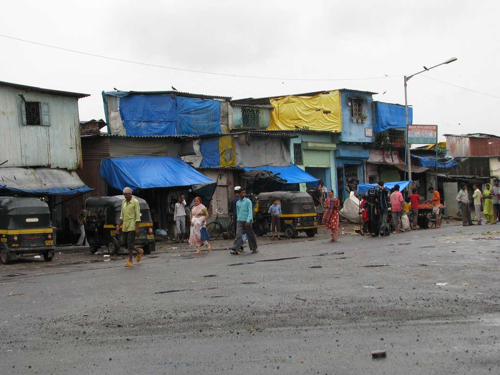 Гето край Мумбай, Индия. Снимка: Wikimedia Commons