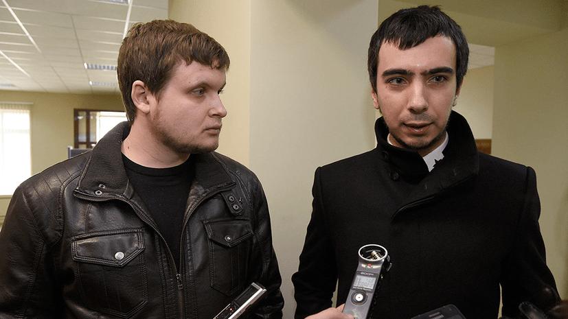 Вован (вдясно) и Лексус. Снимка: RT