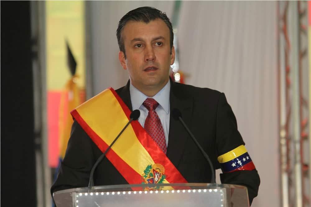 Вицепрезидентът Тарек Ел Аисими. Снимка: psuv
