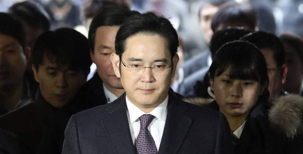 """""""Принцът"""" на """"Самсунг"""" Ли Джае-юн. Снимка: elpais.com"""