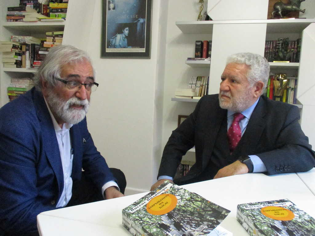 Висенс Виляторо (вляво) и Луис Басат. Снимка: Къдринка Къдринова