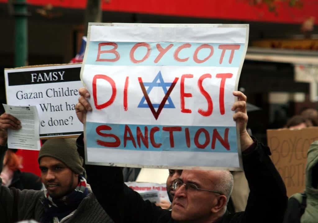 Движението за бойкот, изтегляне на инвестиции и санкции има привърженици в целия свят. Снимка: Wikimedia commons