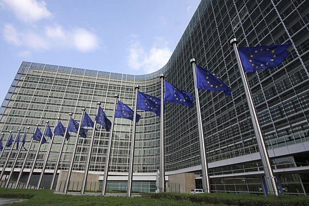 В сградата на Европейската комисия в Брюксел все още няма нов български еврокомисар. Снимка: eud.eu