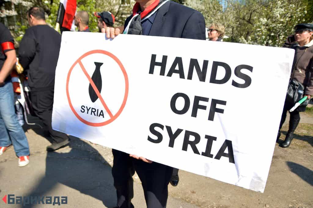 """""""Долу ръцете от Сирия"""", не на военните операции срещу суверенна държава"""