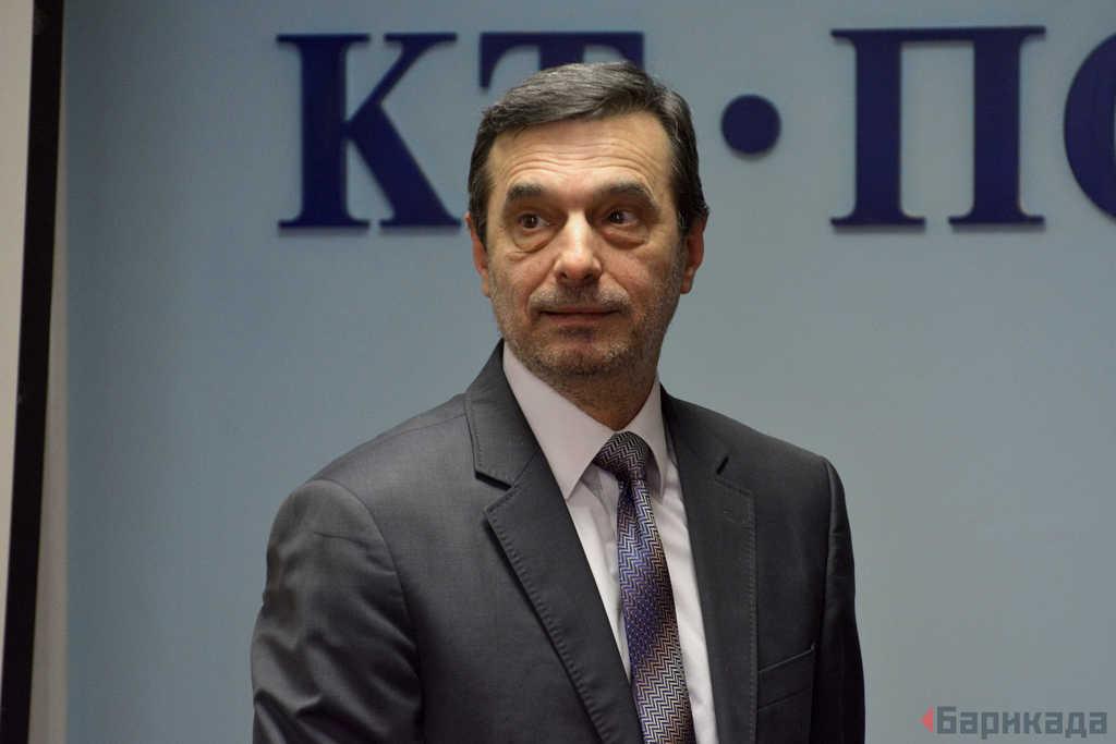 """Димитър Манолов, президент на КТ """"Подкрепа"""""""
