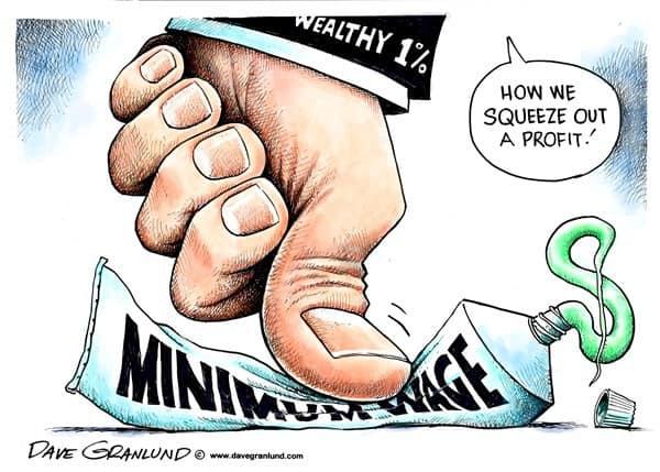 Минималната заплата трябва да бъде изстискана докрай от работодателите в името на общия ни просперитет, категорични са експертите.
