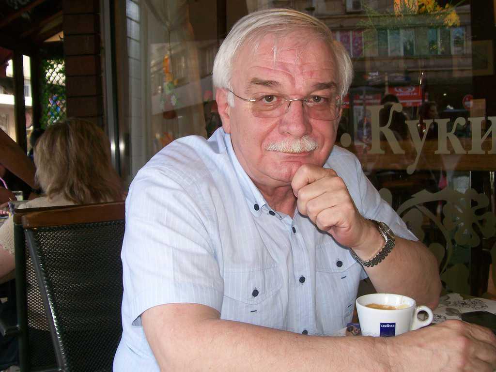 Валентин Радомирски. Снимка: Къдринка Къдринова