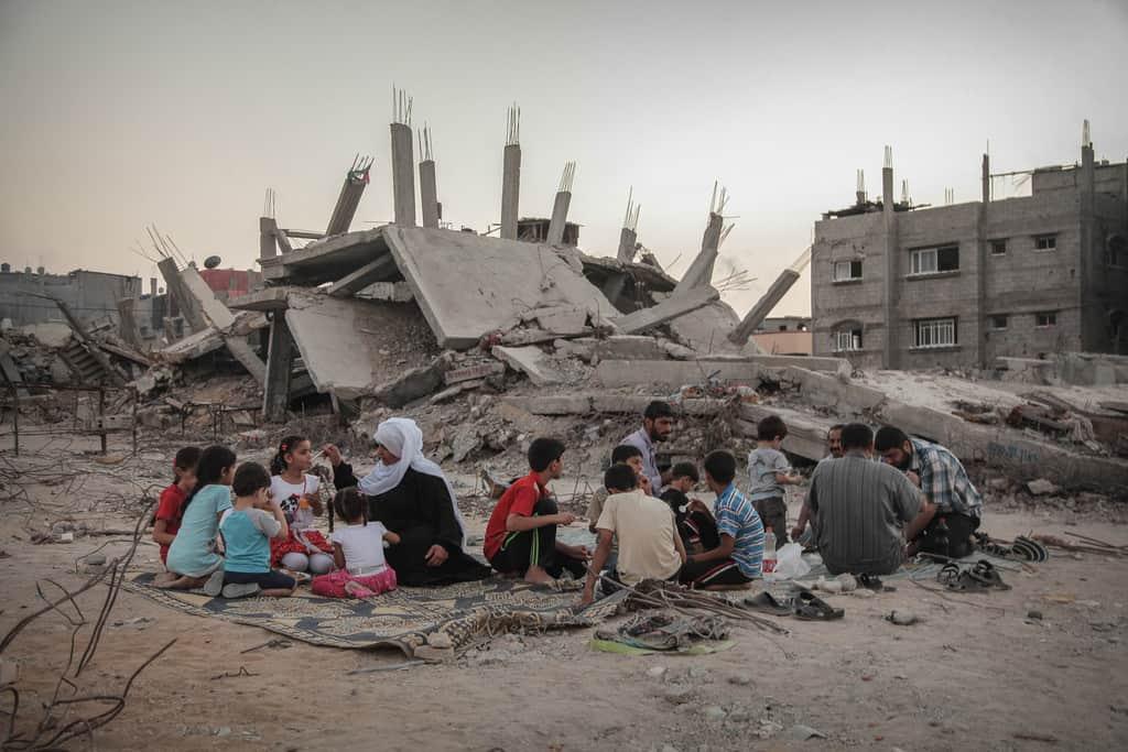Ивицата Газа остава в руини след израелската офанзива през 2014 г. Снимка: electronicintifada.net