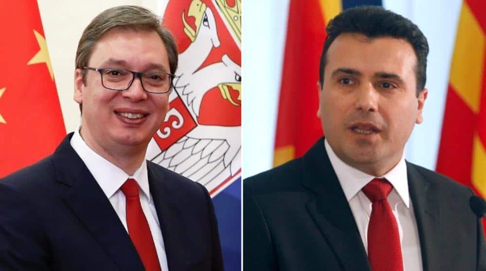 Александър Вучич и Зоран Заев станаха в един и същи ден съответно президент на Сърбия и премиер на Македония. Източник: espreso.rs