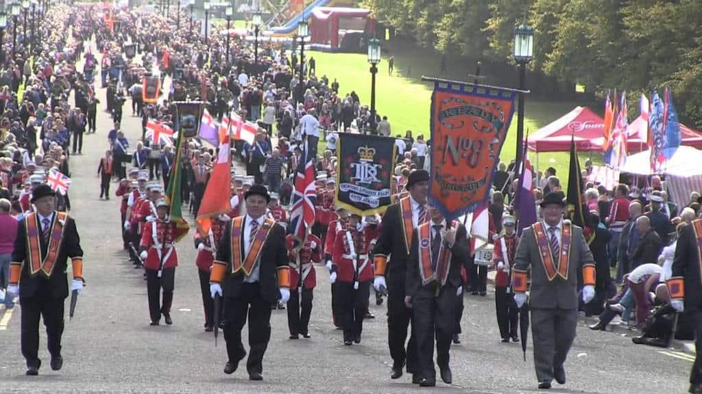 """Ежегоден парад на """"Оранжевия орден"""". Източник: Youtube"""