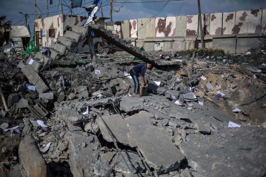 Ивицата Газа все още е в руини след войната от 2014 г. Източник: Twitter