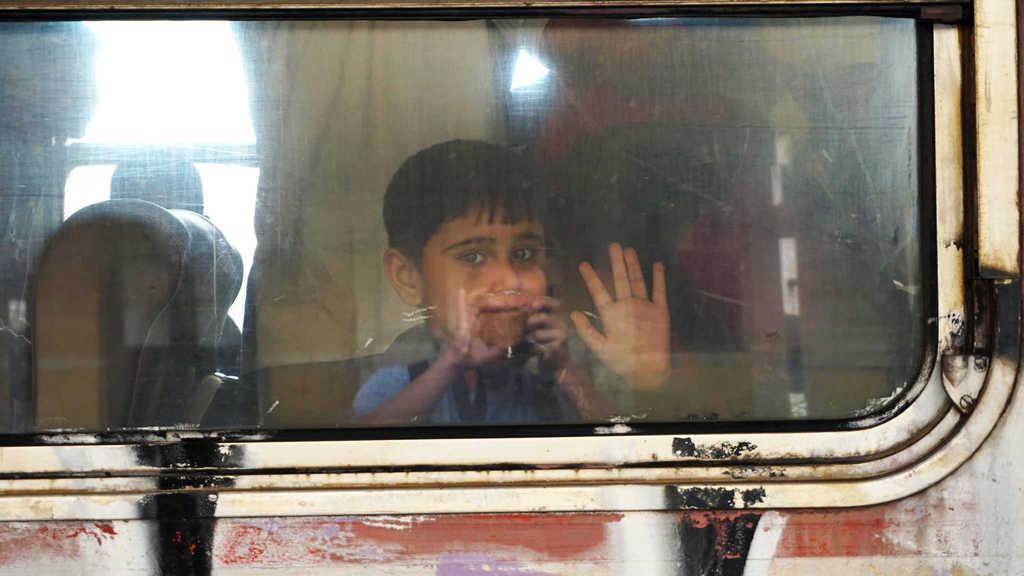 Дете - бежанец в Сърбия, 2015 година. Снимка: Jeroen Akkermans, Flickr