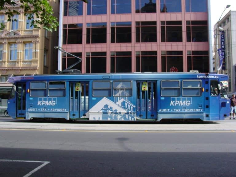 A1-241_Melbourne_tram_KPMG_livery_Flinders_Street_Melbourne-768x576