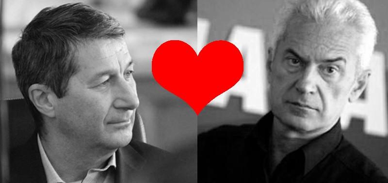 Колаж: Барикада. Използвани са снимки от официалните профили на Владимир Каролев и Волен Сидеров във Фейсбук.