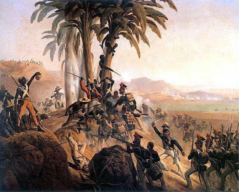 През 1804 г. хаитянците вдигат първия успешен робски бунт. Но повечео то 100 години трябва да плащат репарации на бившия си колониален владетел Франция. Източник: Wikimedia Commons