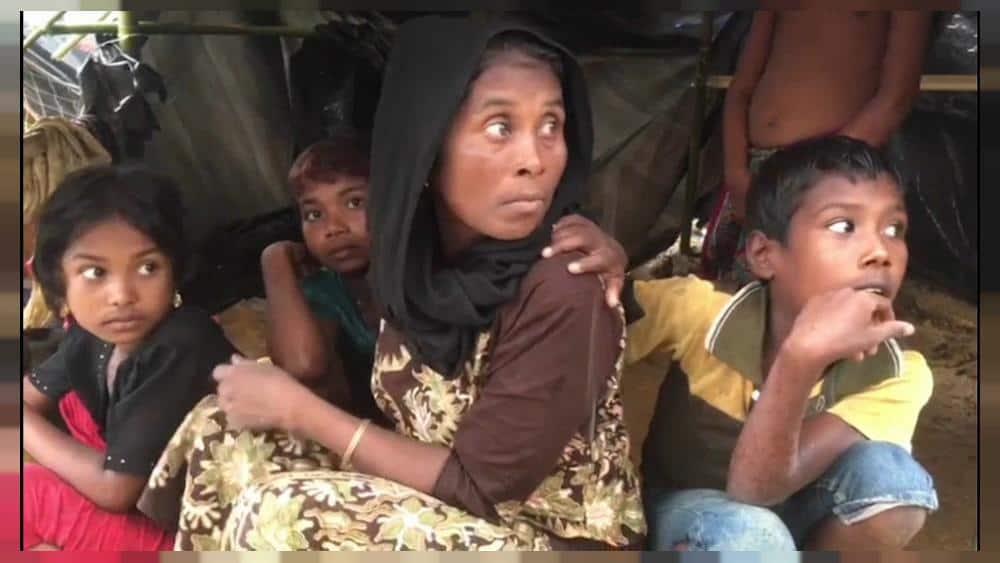 Рохингски бежанци. Снимка: Euronews