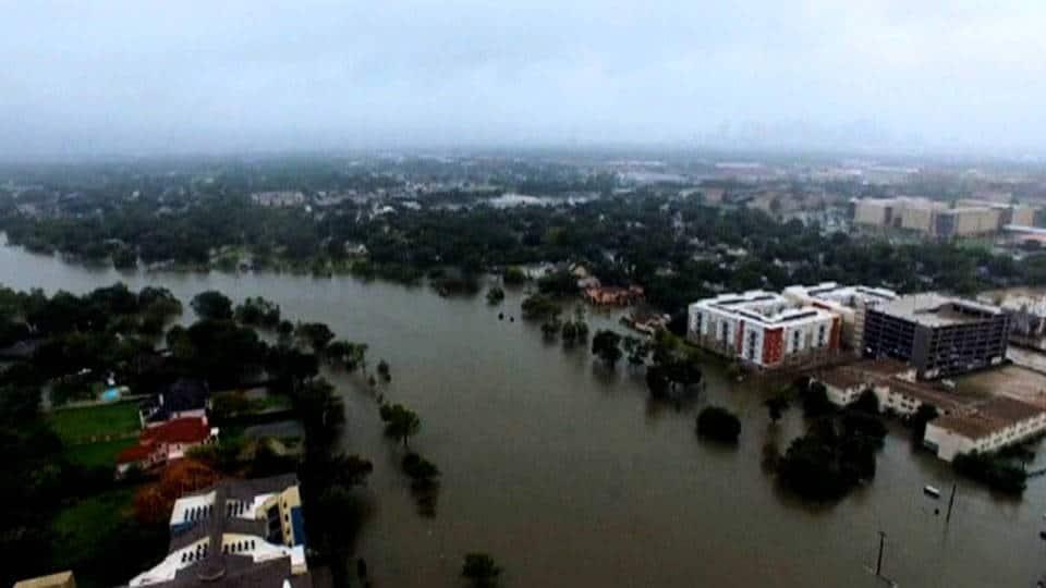 """Щетите от урагана """"Харви"""" могат да достигнат 180 млрд. долара. Снимка; Twitter."""