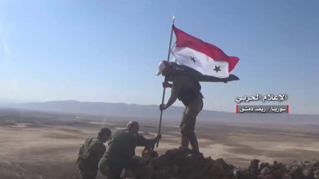 Пътят на сирийската армия към Дейр ез-Зор е открит. Снимка: Twitter