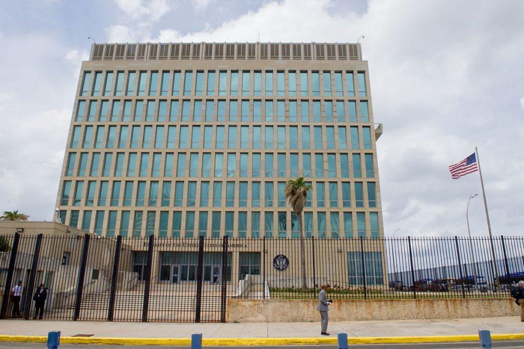 Посолството на САЩ в Хавана. Източник: Wikipedia