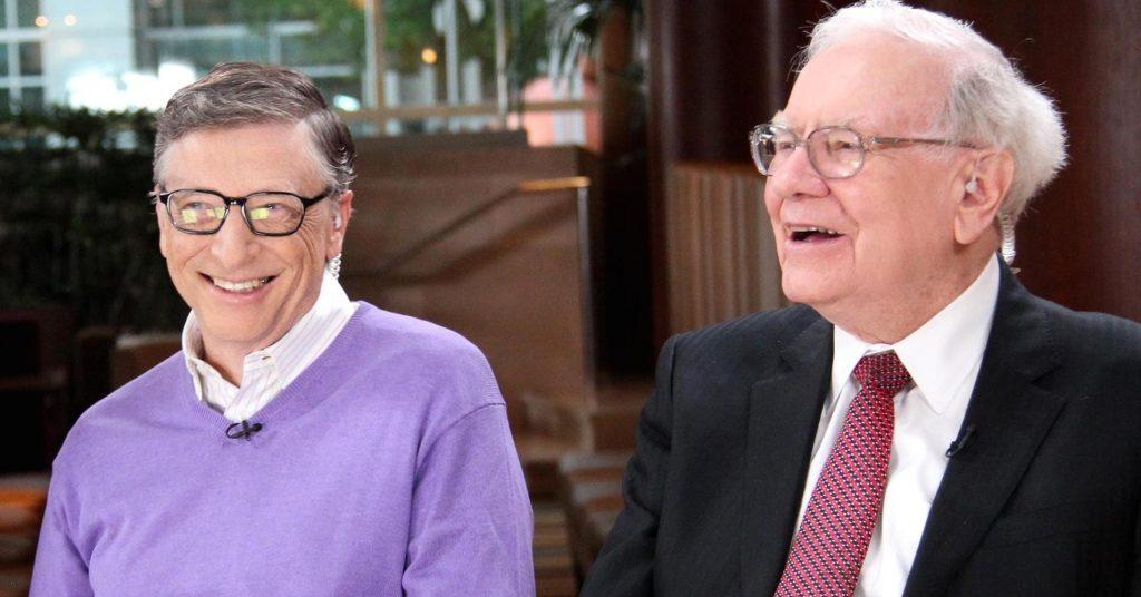 Бил Гейтс и Уорън Бъфет. Източник: CNBC