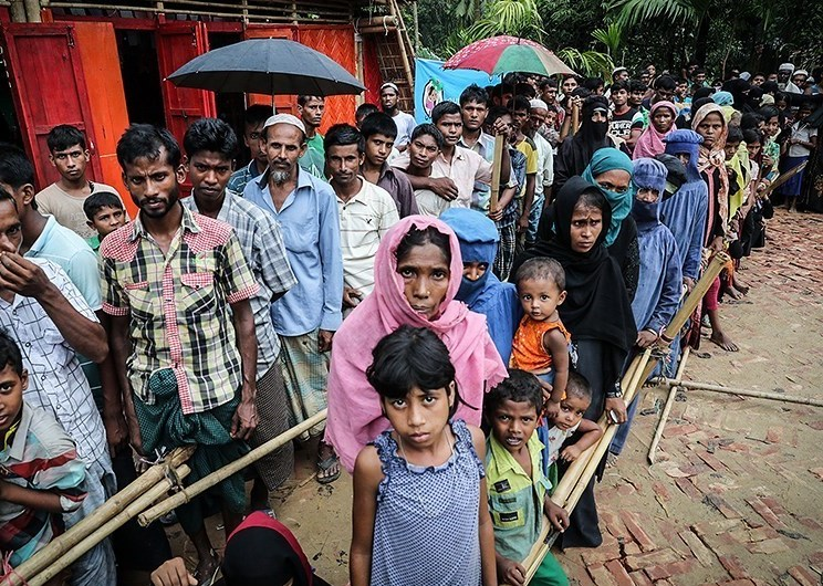 Близо един милион рохинги са избягали в съседен Балгладеш от миналата през последната година. Само от август насам бежанците са над 600 хил. Снимка: Wikimedia Commons