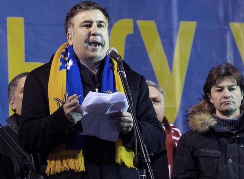 По време на събитията на Майдана Саакашвили се подготвя да сдаде властта в Грузия и хвърля цялата си енергияя в новия си проект в Украйна.