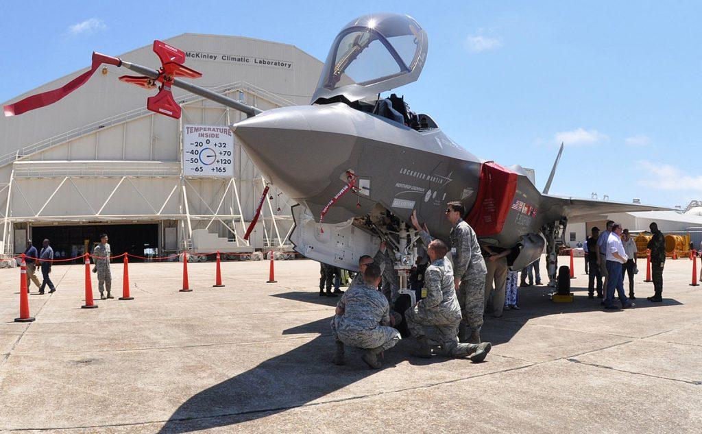 Увеличаващите се доставки на F-35 спомагат за общия ръст на оръжейните продажби в САЩ. Снимка: Wikimedia Commons
