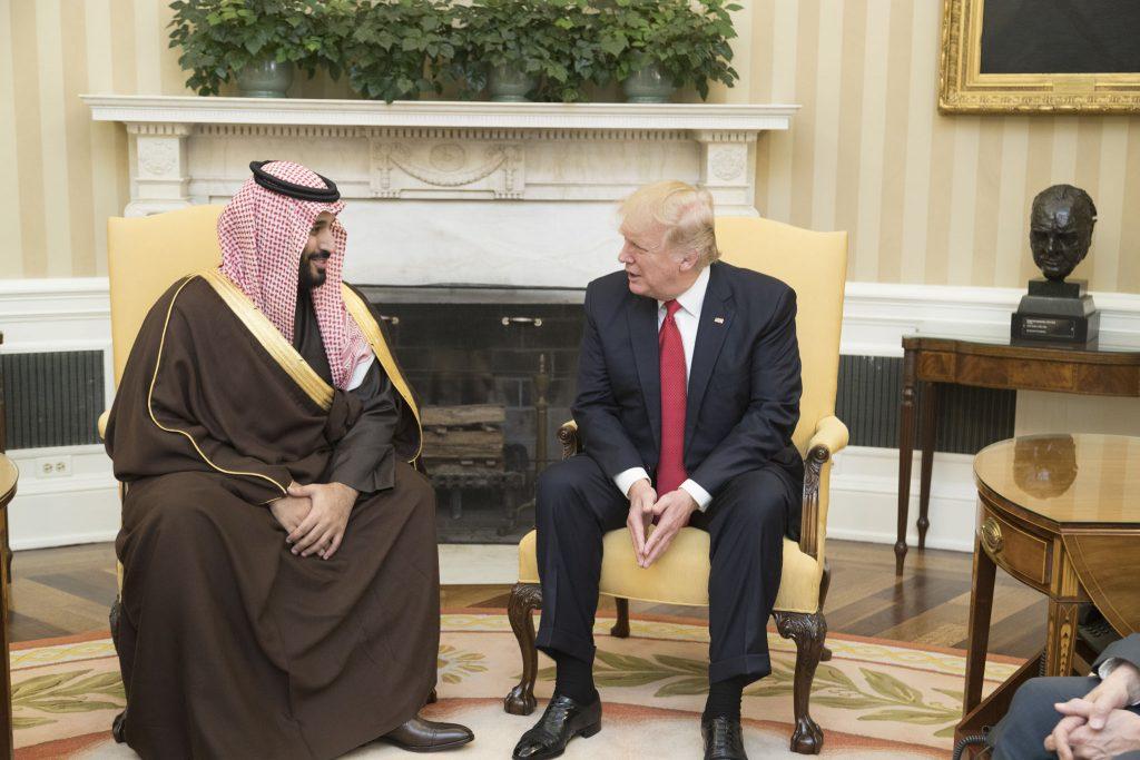 Саудитският престолонаследник Мохамед бин Салман и Доналд Тръмп дружно сеят хаос в Близкия Изток. Снимка: Wikimedia Commons