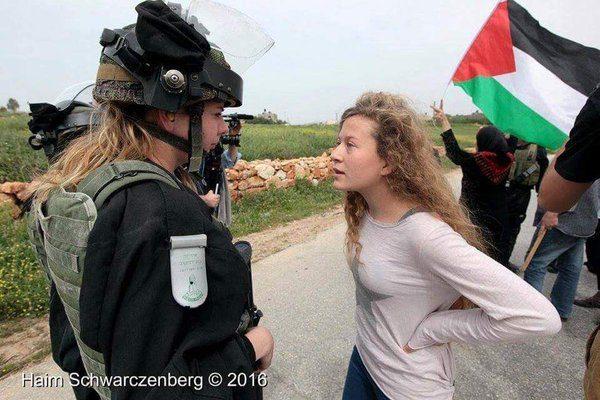 Ахед Тамими се превръща в един от символите на палестинската съпротива срещу окупацията