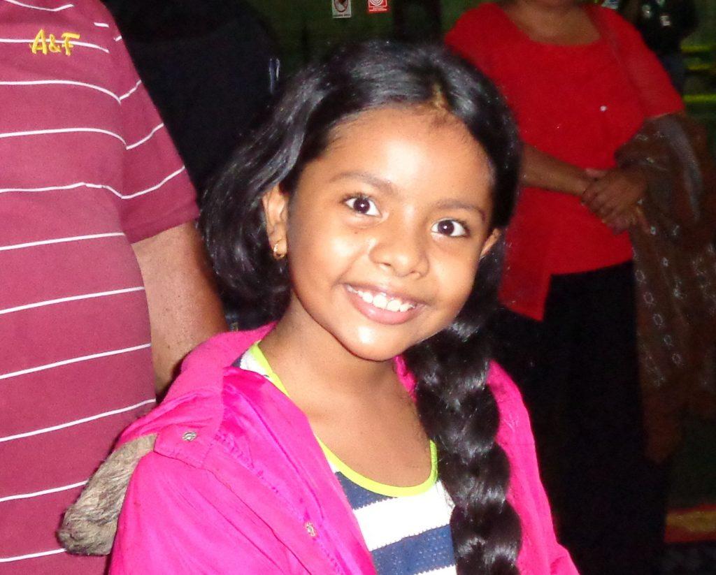 32 процента от 30-милионното население на Венесуела са деца и юноши под 18-годишна възраст. Бъдещето на страната се оглежда и в очите на тази малка красавица. Снимка: Къдринка Къдринова