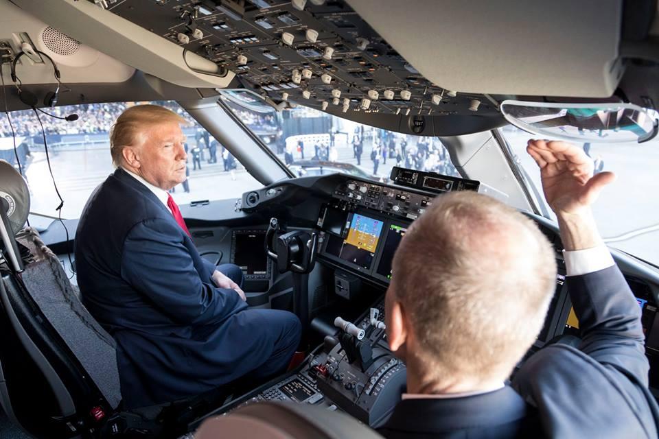 Все още не е сигурно, че Доналд Тръмп ще успее да наложи визията си за бъдещето на НАСА. Снимка: https://www.facebook.com/pg/POTUS