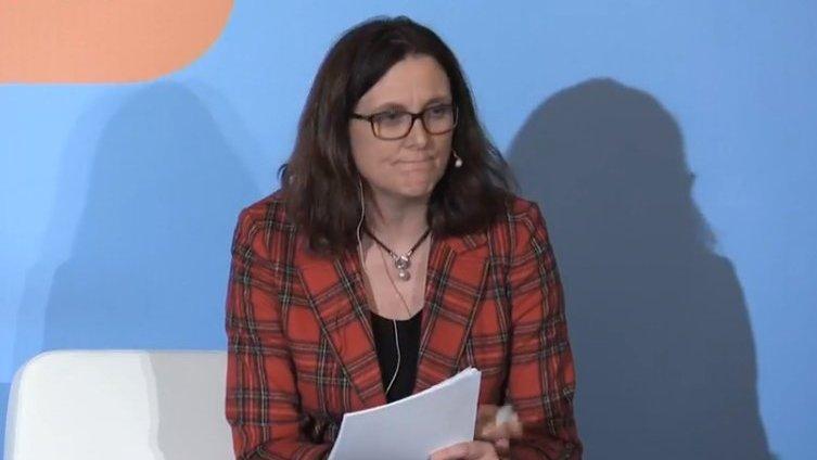 Сесилия Малмстрьом.