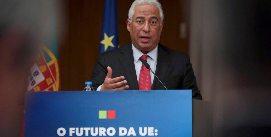 Португалският премиер Антонио Коща. Снимка: EFE