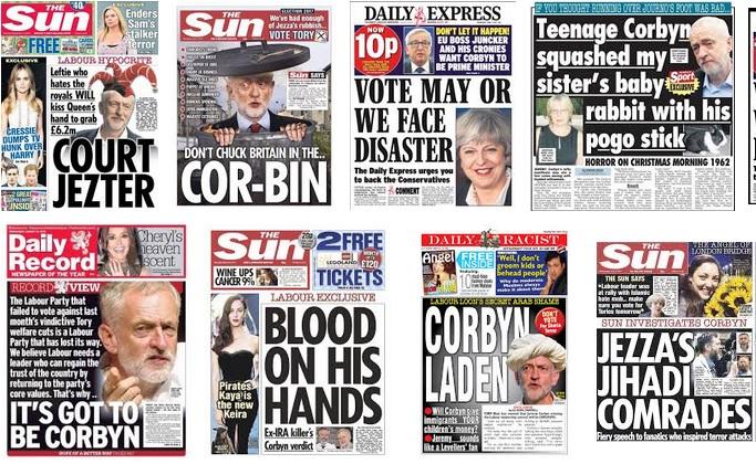 Джереми Корбин е обект на непрестанни клеветнически кампании в жълтата преса