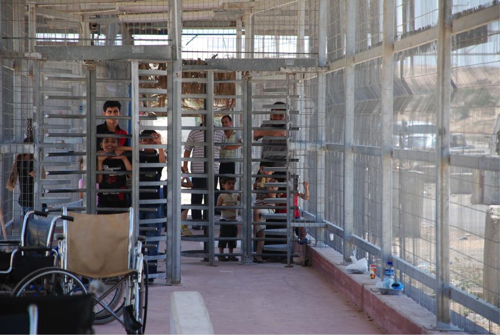 Огражденията между Израел и блокираната Ивица Газа. Снимка: Oxfam