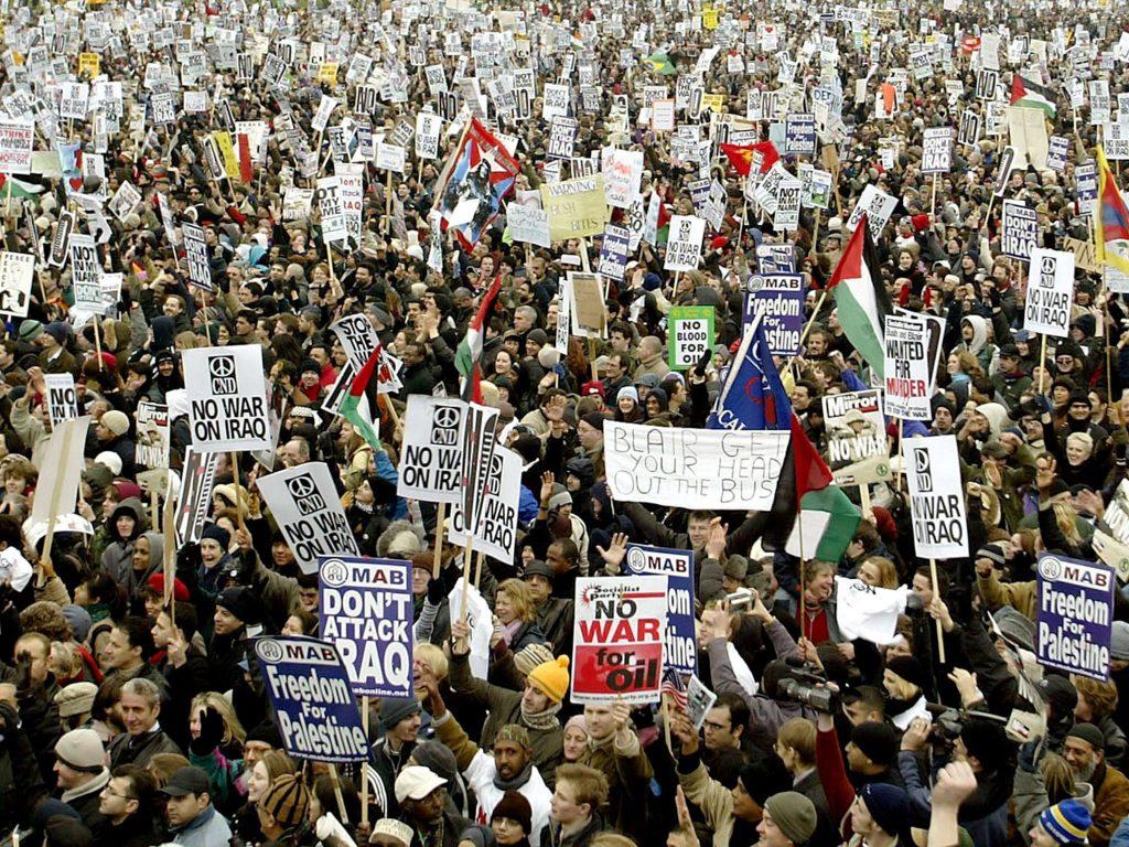 Протестите на 15 февруари 2003 г. не успяха да предотвратят войната в Ирак, но показаха, че глобалната съпротива е реално възможна