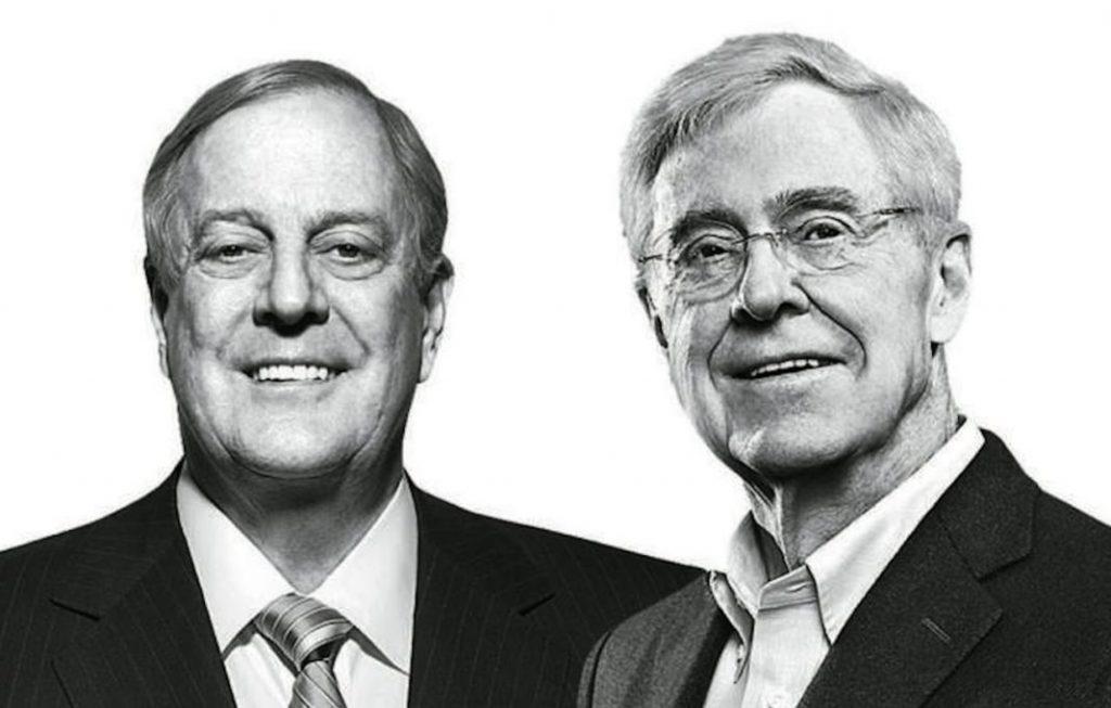 Благодарение на Тръмп и републиканското мнозинство в Конгреса, мрежата на братя Кох успява да наложи дневния си ред върху американското общество.