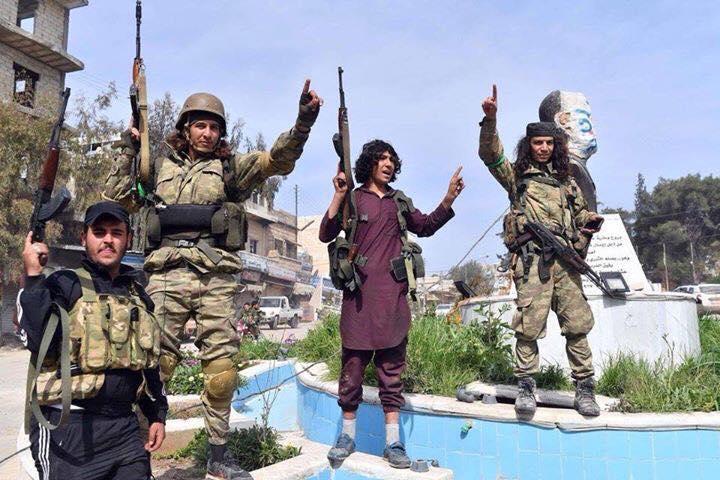 ИДИЛ? Ал Кайда? допреди няколко месеца да, но днес вече са ударната сила на натовска Турция