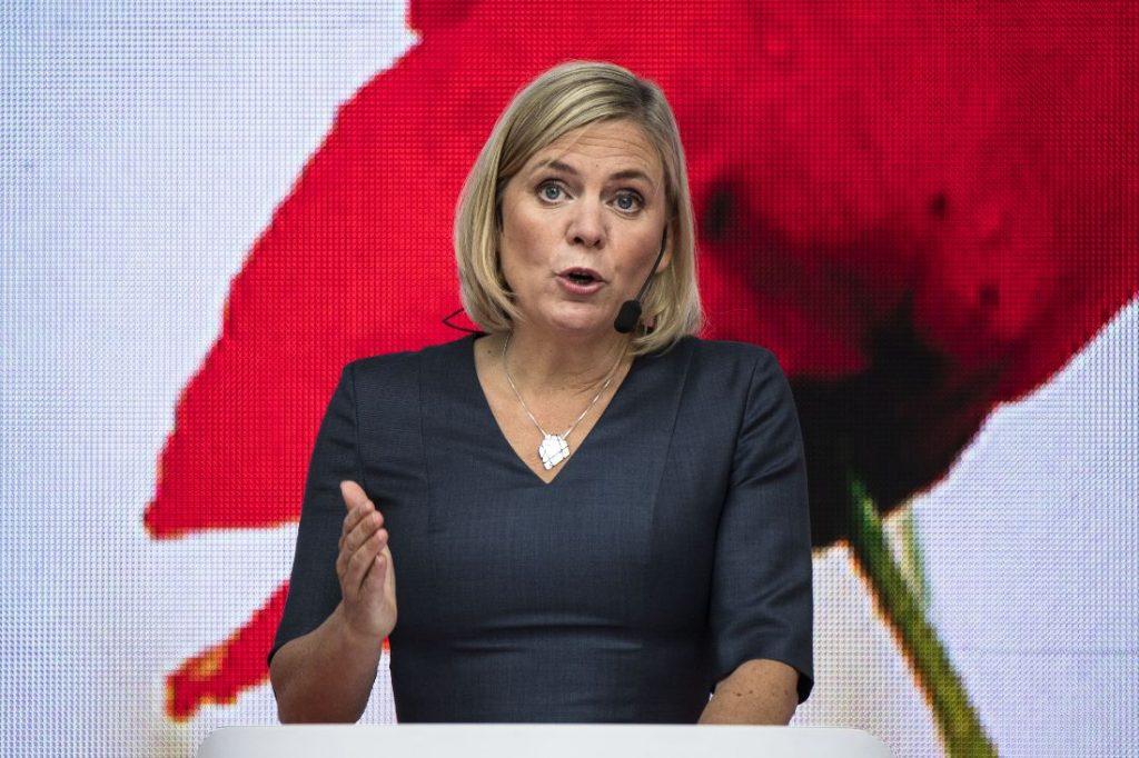 Магдалена Андерсон. Снимка: aftonbladet-cdn.se