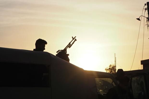 Синдар и околностите му се охраняват от про-правителствените Сили за народна мобилизация и различни язидски отряди. Снимка: Middle East Eye