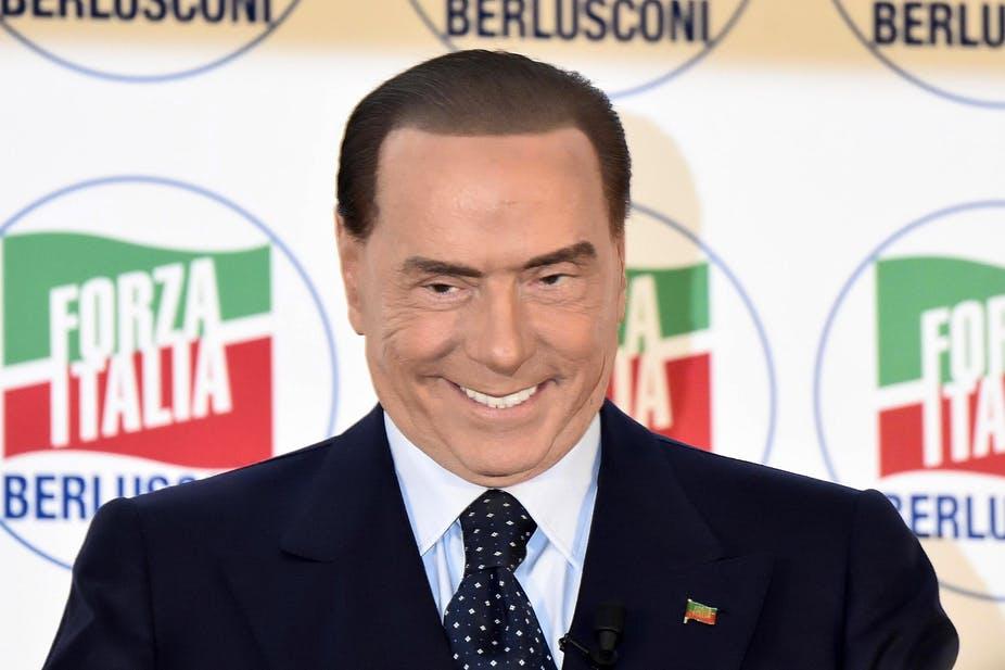 Силвио Берлускони, издание 2018. Снимка: The Conversation