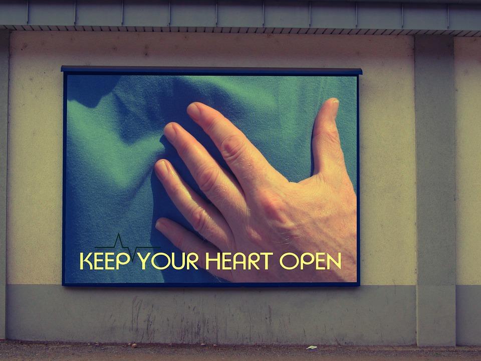 """""""Дръжте сърцето си отворено"""" - особено ако не можете да си позволите да доплатите за затваряне. Снимка: Pixabay"""