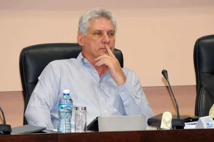 Мигел Диас-Канел е новият президент на Куба. Снимка: Radio Reloj