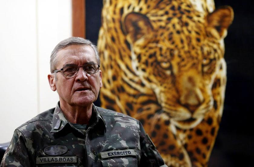 Главнокомандващият бразилската армия Едуардо Диас Вилас Боас. Снимка: metropoles