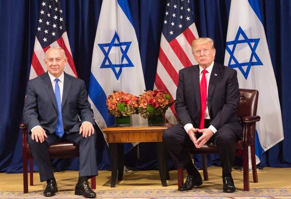 Тръмп и Нетаняху работят дружно за подкопаването на международното споразумение за ядрената програма на Иран. Снимка: facebook.com/DonaldTrump