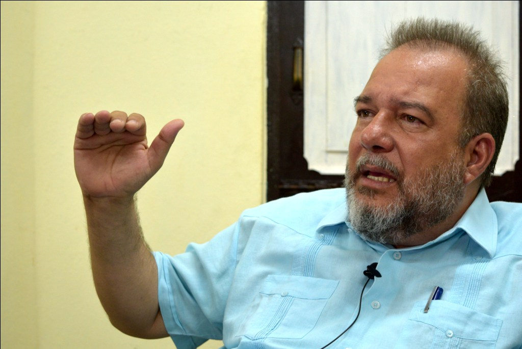 Мануел Мареро Крус, министър на туризма на Куба. Снимка: Trabajadores