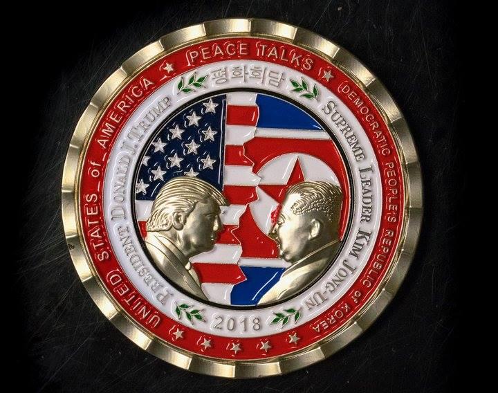 Белият дом избърза с емитирането на възпоменателни монети за срещата, което така и няма да се проведе