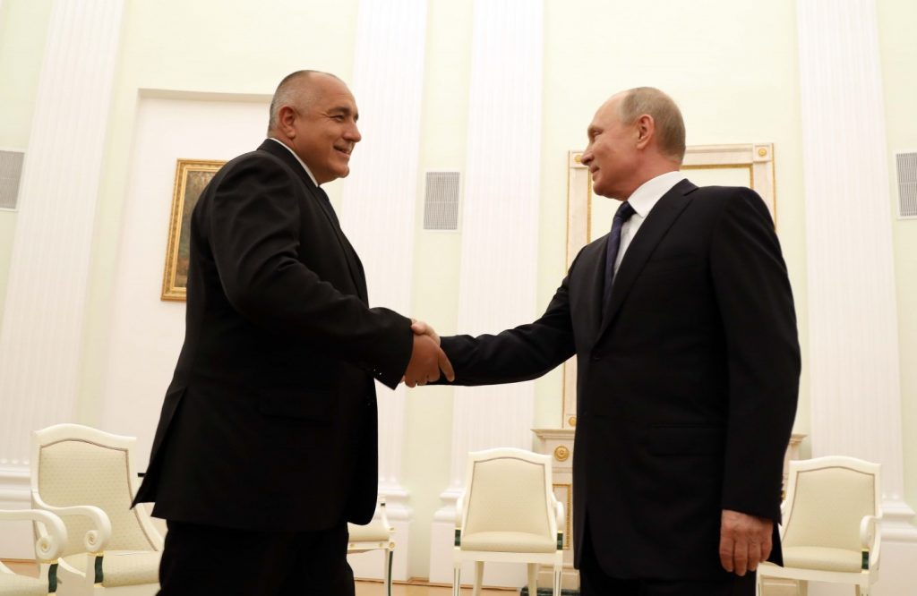 Бойко Борисов и Владимир Путин в Кремъл. Снимка: gov.bg